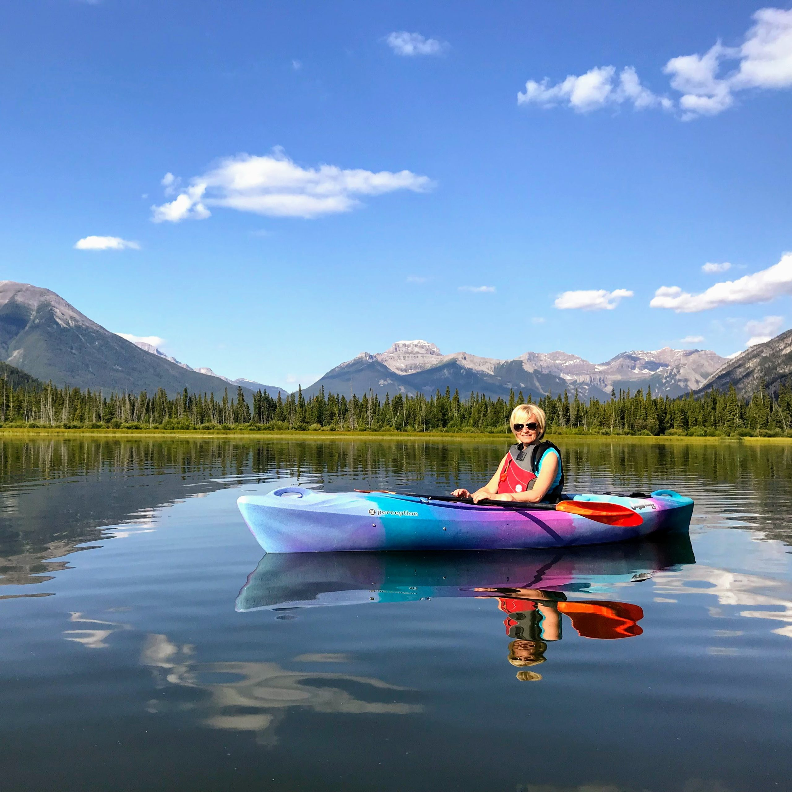 Vermilion Lakes in Banff