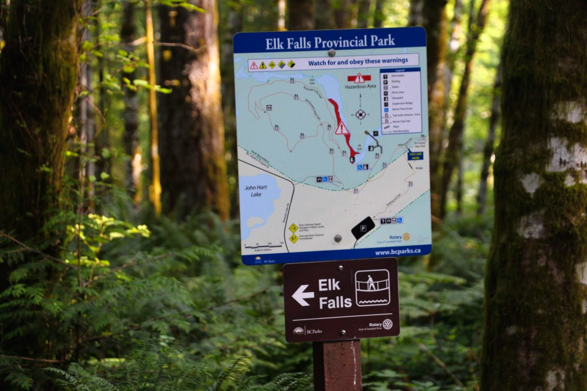 Elk Falls wandelingen