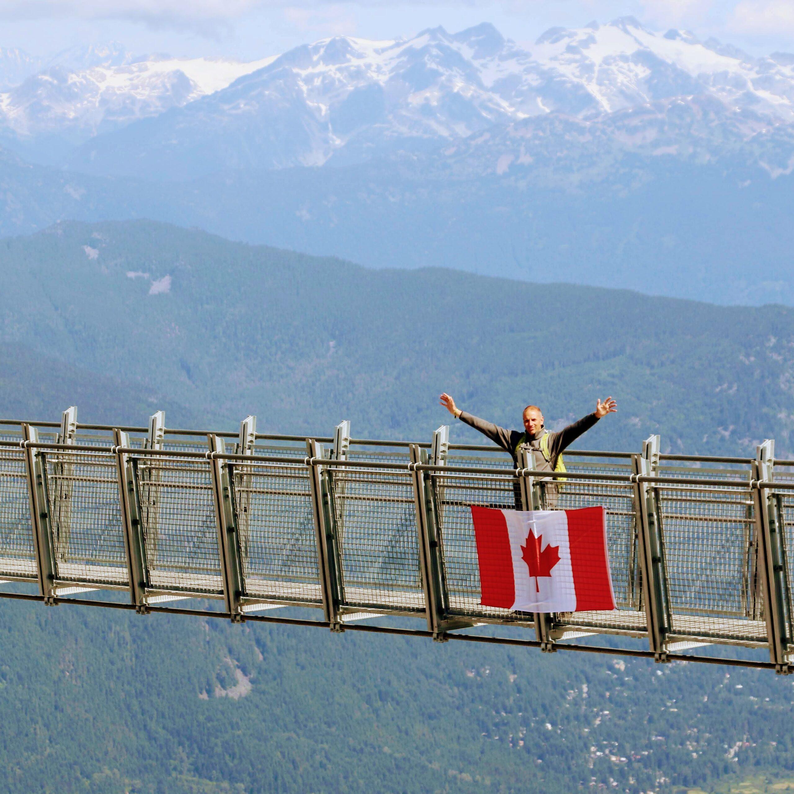 Hangbruggen in Canada