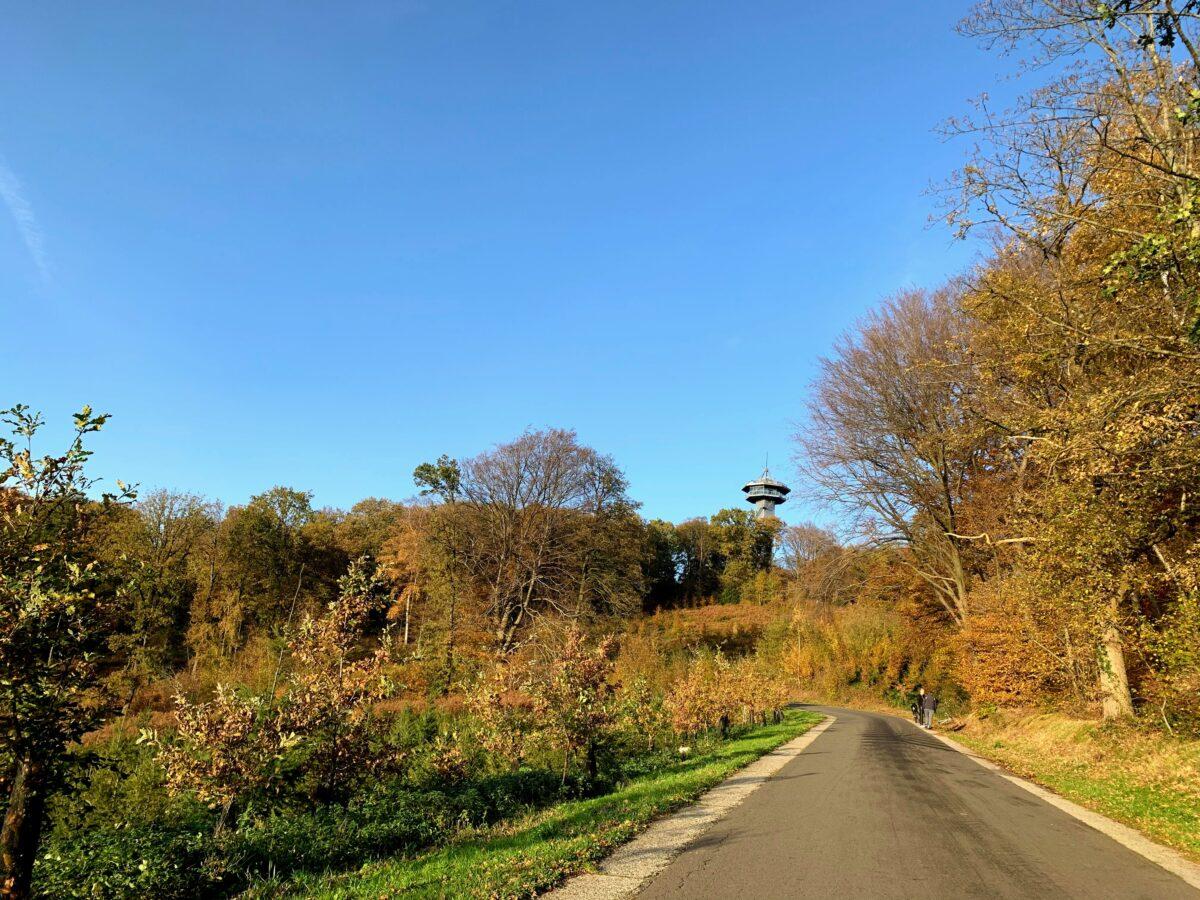 Koning Boudewijntoren route
