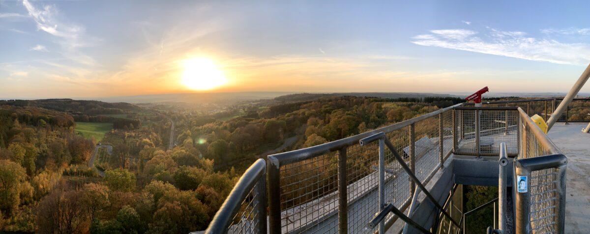 Koning Boudewijntoren observatiedek boven