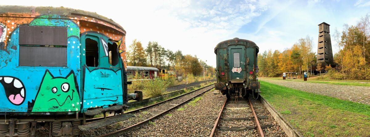 Oude treinen As