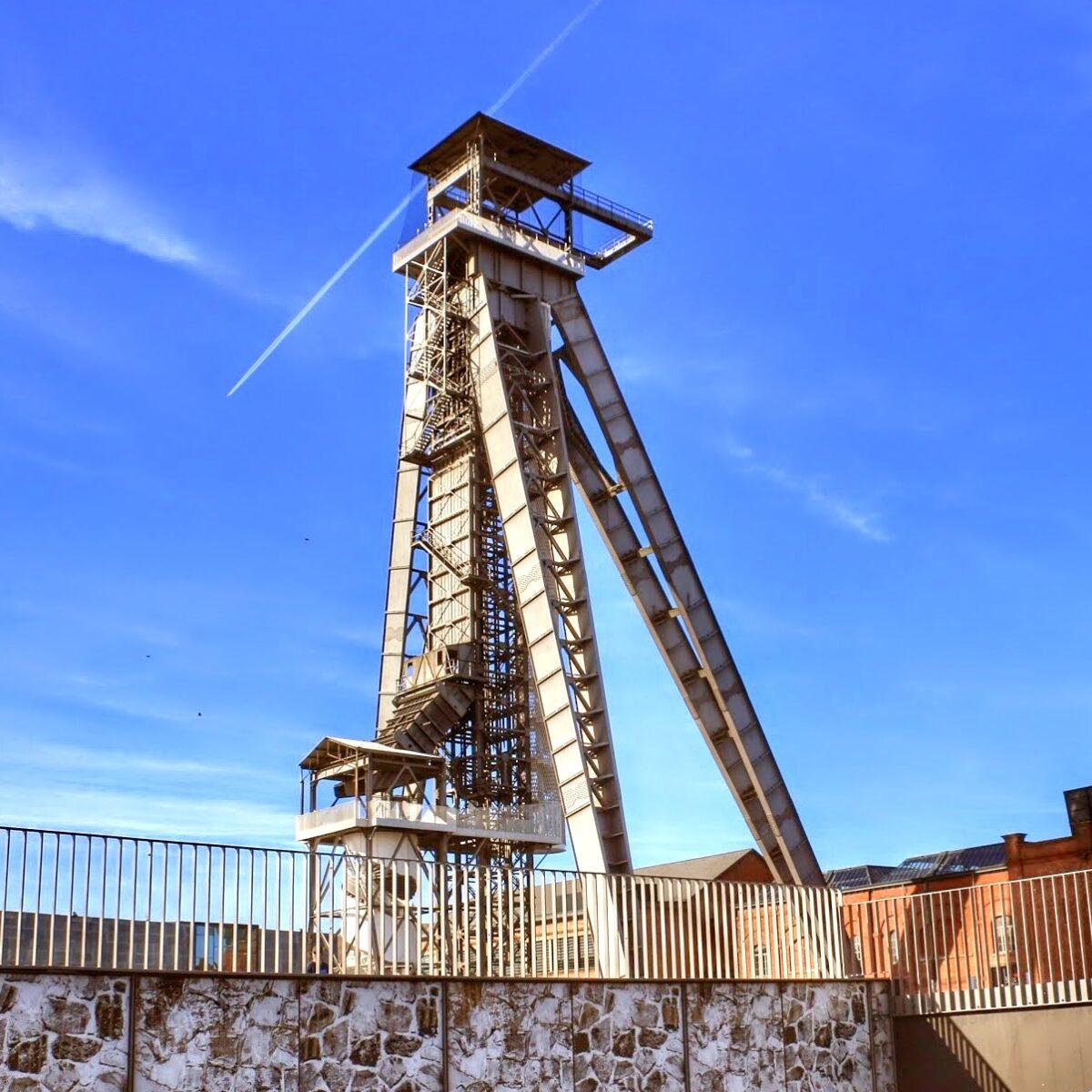 Uitkijktorens in België - Schachtbok C-Mine