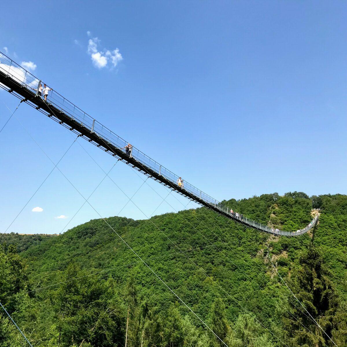 Themareizen - hangbruggen