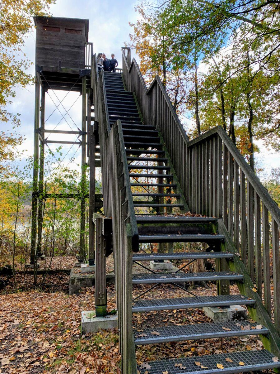 trap uitkijktoren