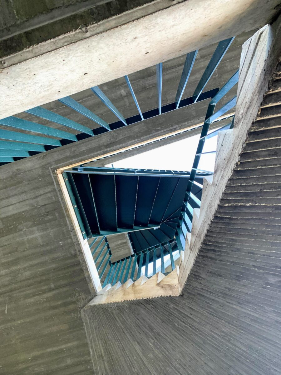 Uitkijktoren de Stapper trappen