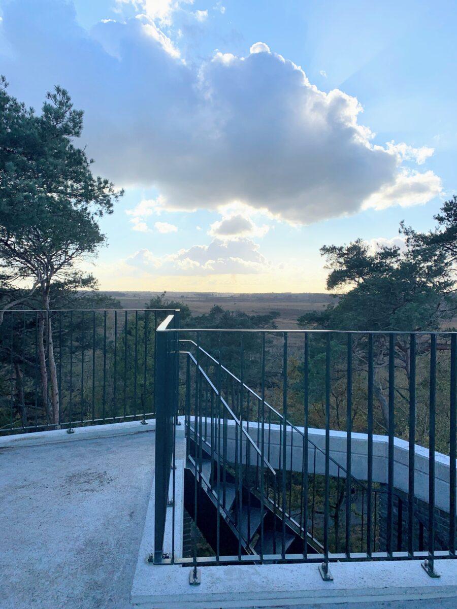 Uitkijktoren de Stapper uitzicht