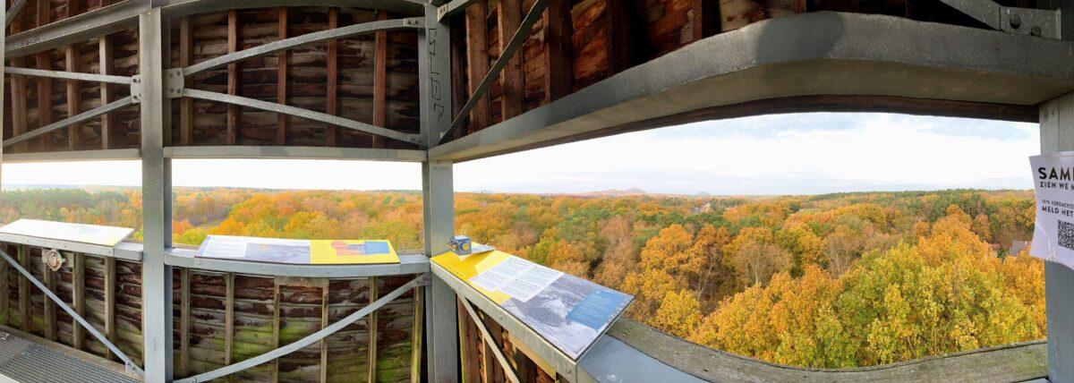 Uitzicht vanaf uitkijktoren in As