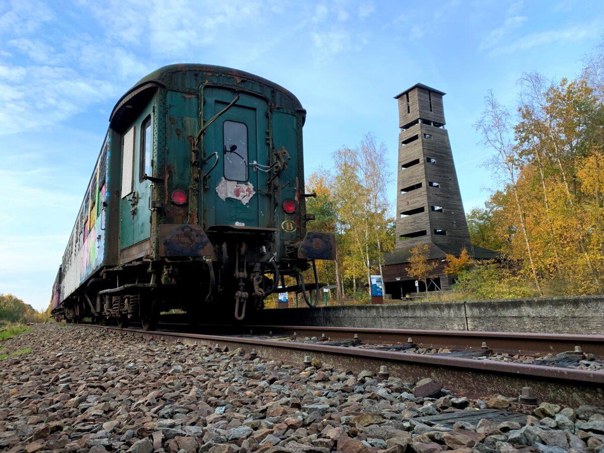 Urbex - oude treinen