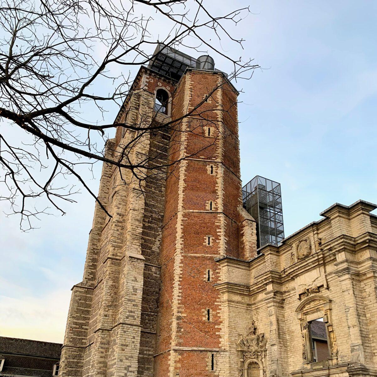 Uitkijktorens in België - abdijtoren Sint-Truiden