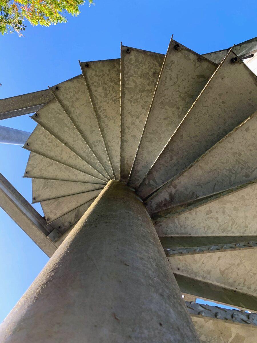 Trappen uitkijktoren Tessenderlo