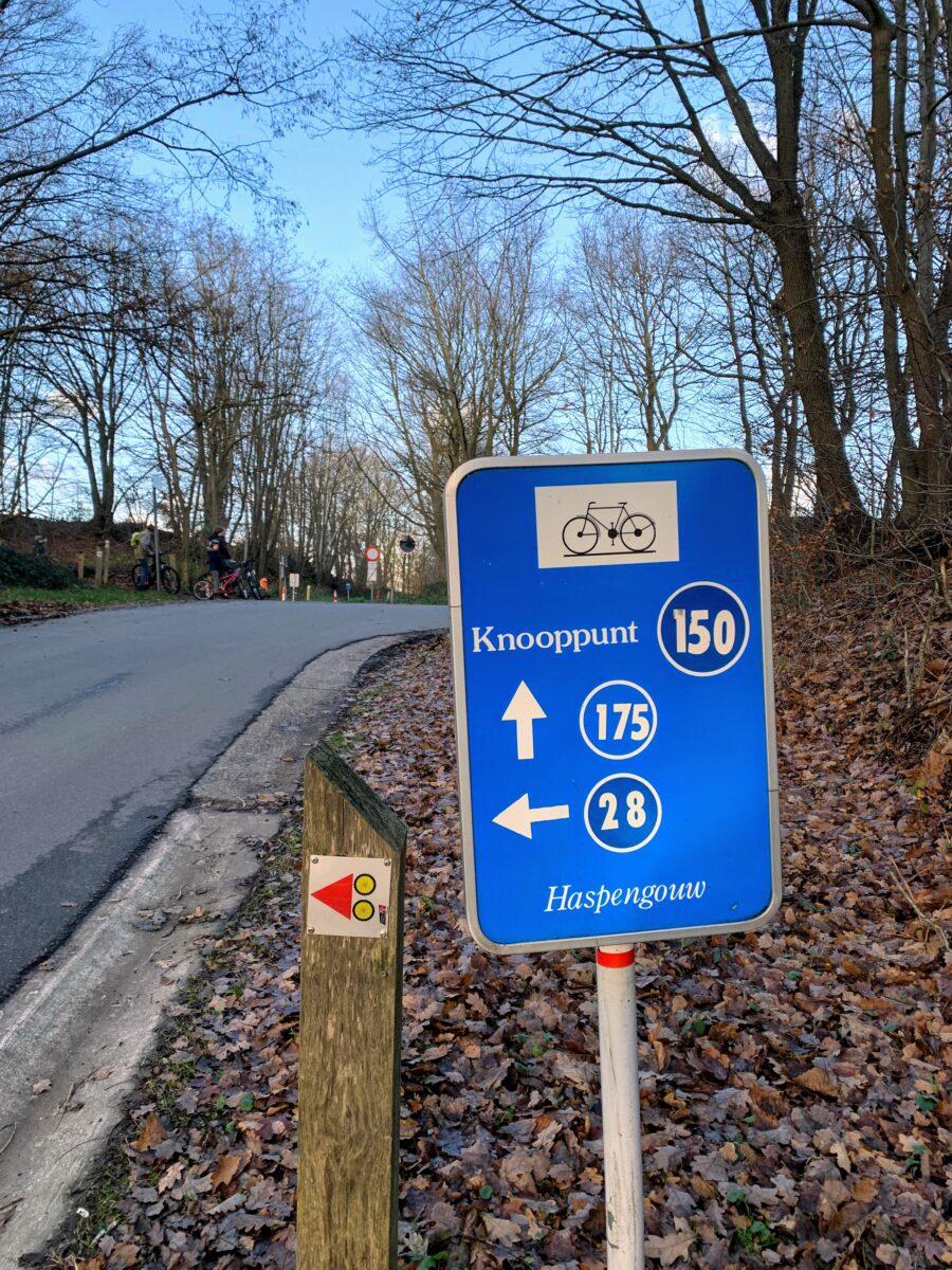 Knooppunt 150 haspengouw fietsroutenetwerk