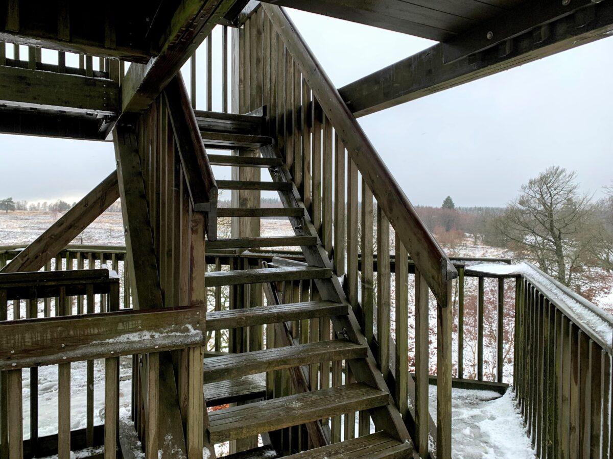 Tour de Berinzenne trappen