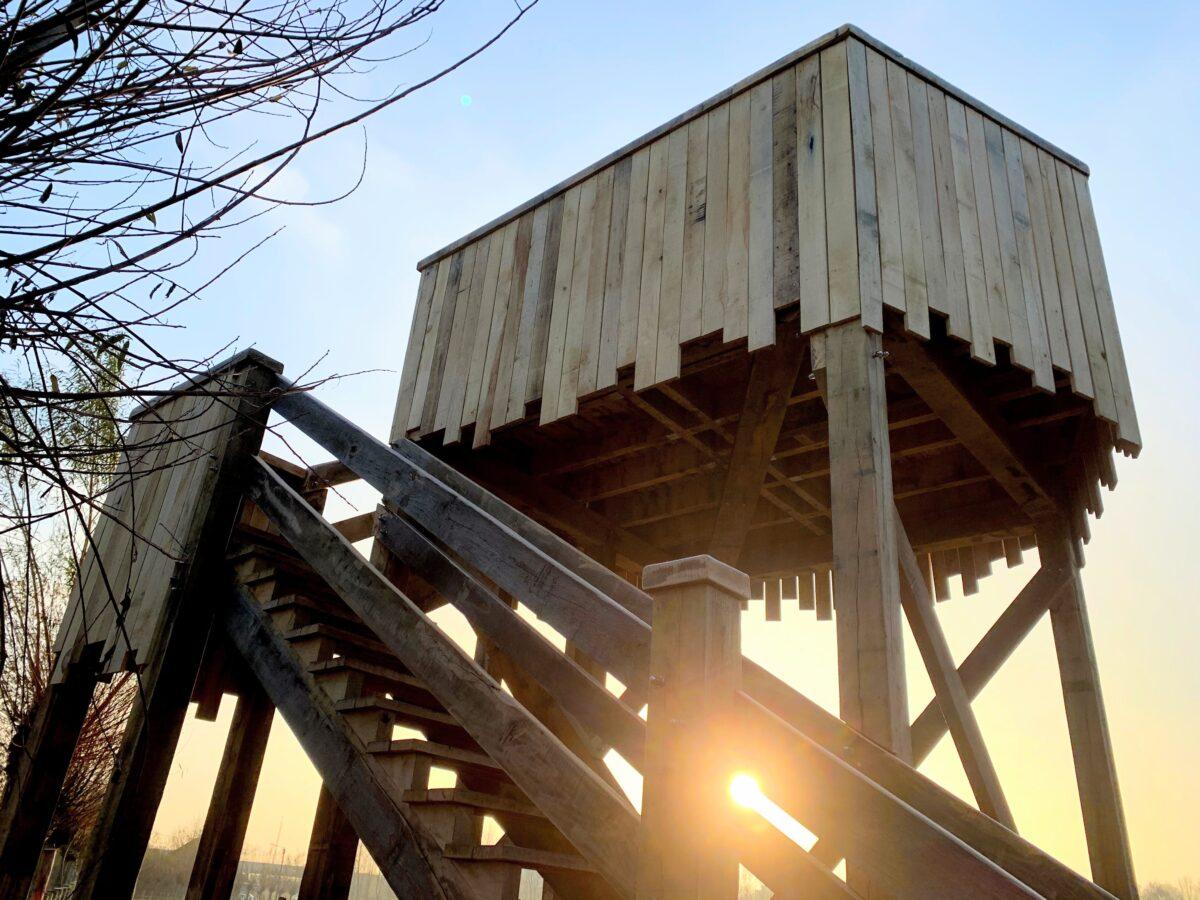 Uitkijktoren Tommelen - spoorwegstraat
