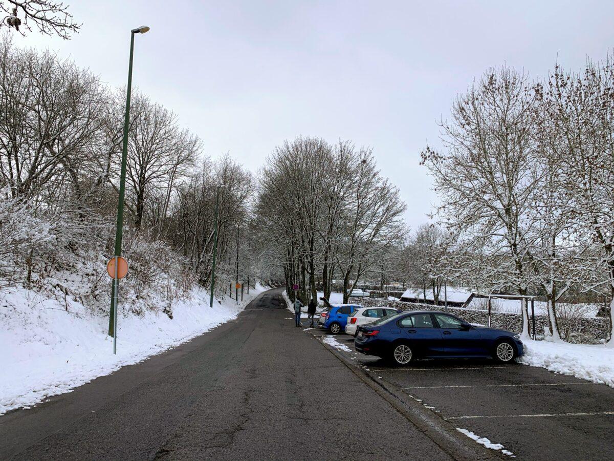 Parkeerplaats Worriken