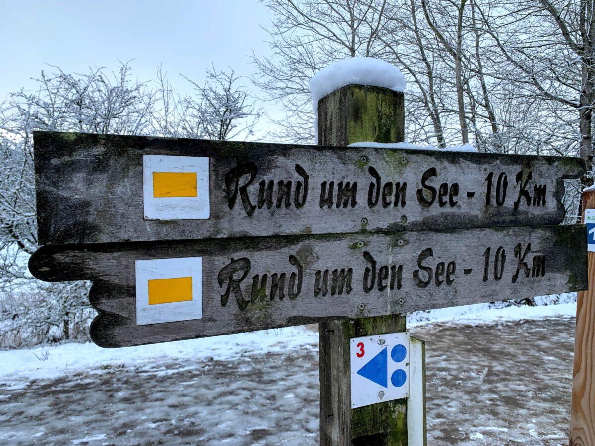 Rund um den See - Bütgenbach