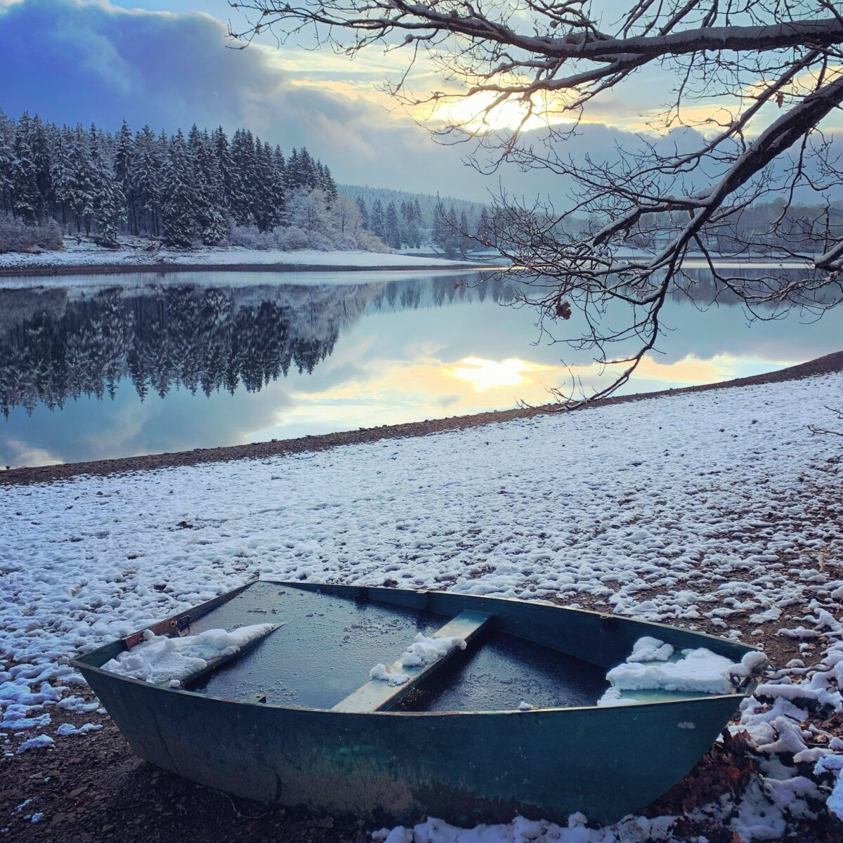 Wandeling rond het meer van Bütgenbach