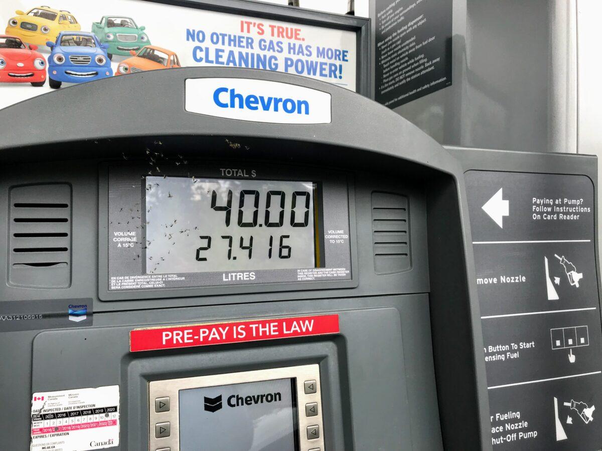 Benzinepomp Canada