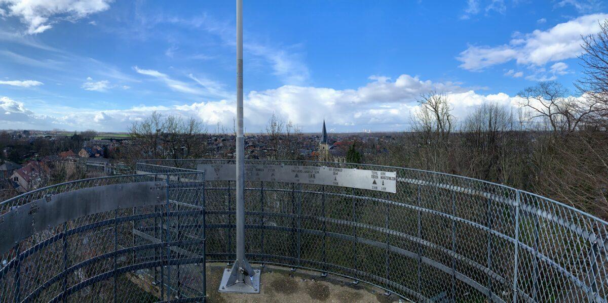 Panoramisch uitzicht Bilzen