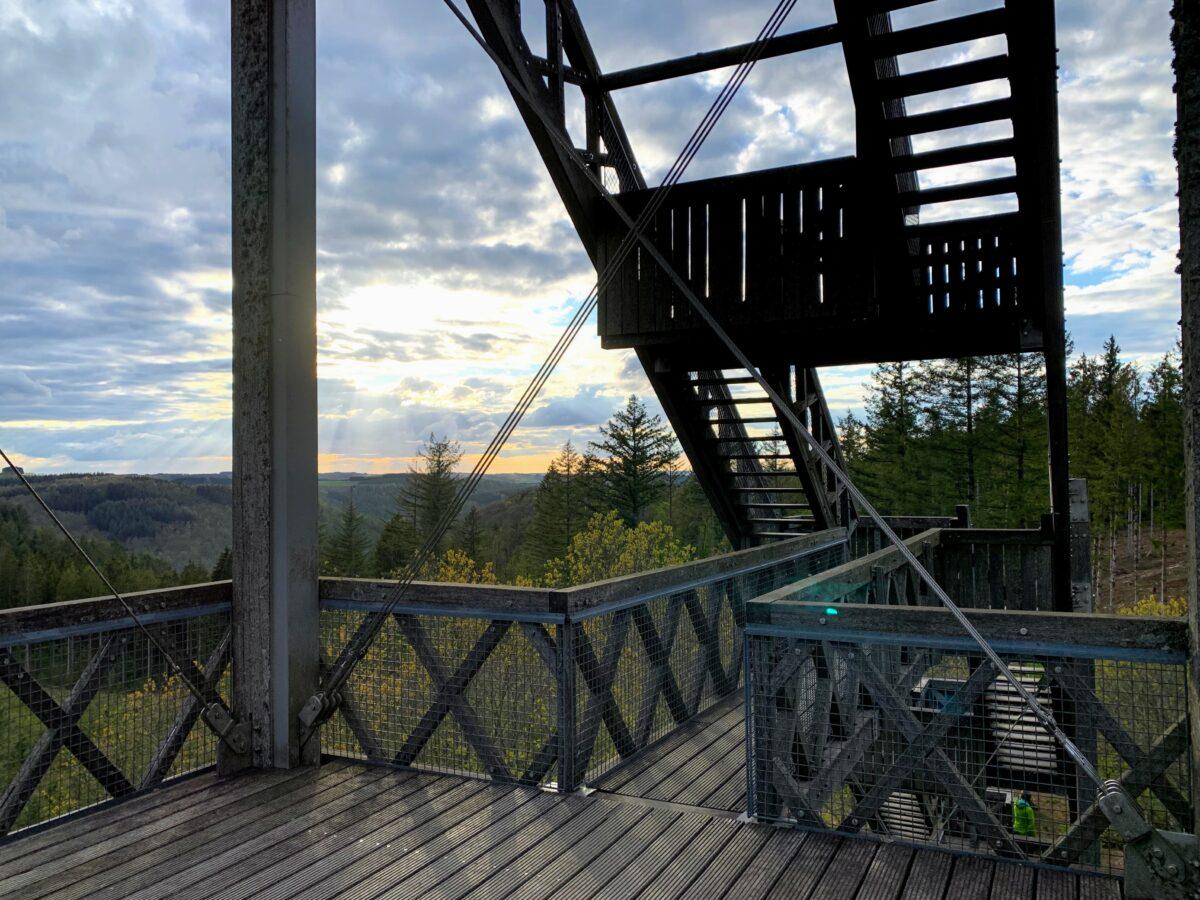 Trappen uitkijktoren van Bouillon