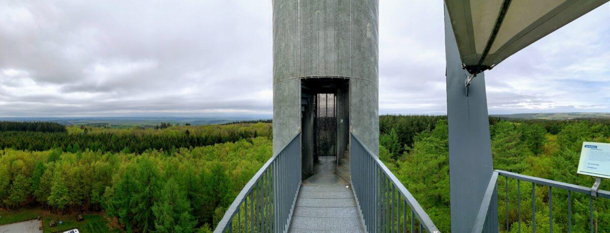 La Tour du Millénaire panorama