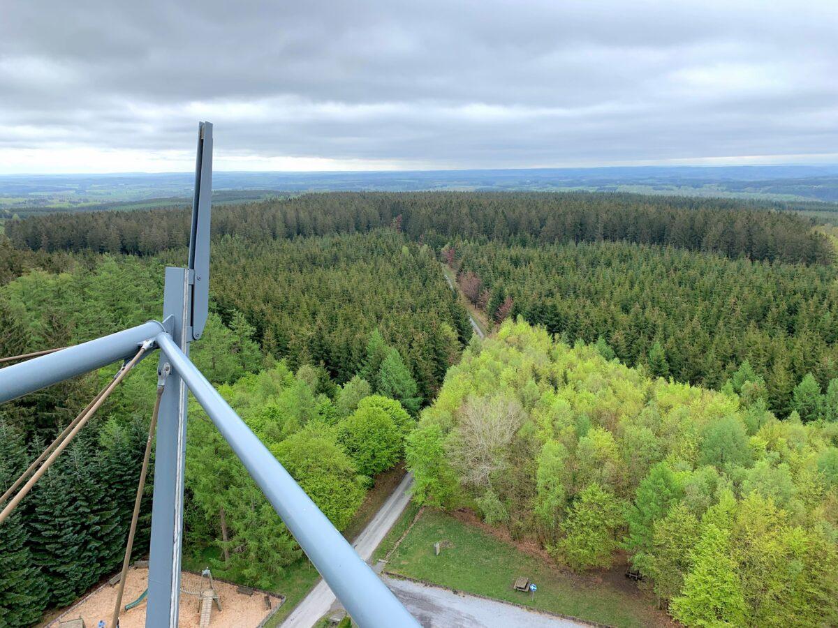 Uitzicht vanaf La Tour du Millénaire