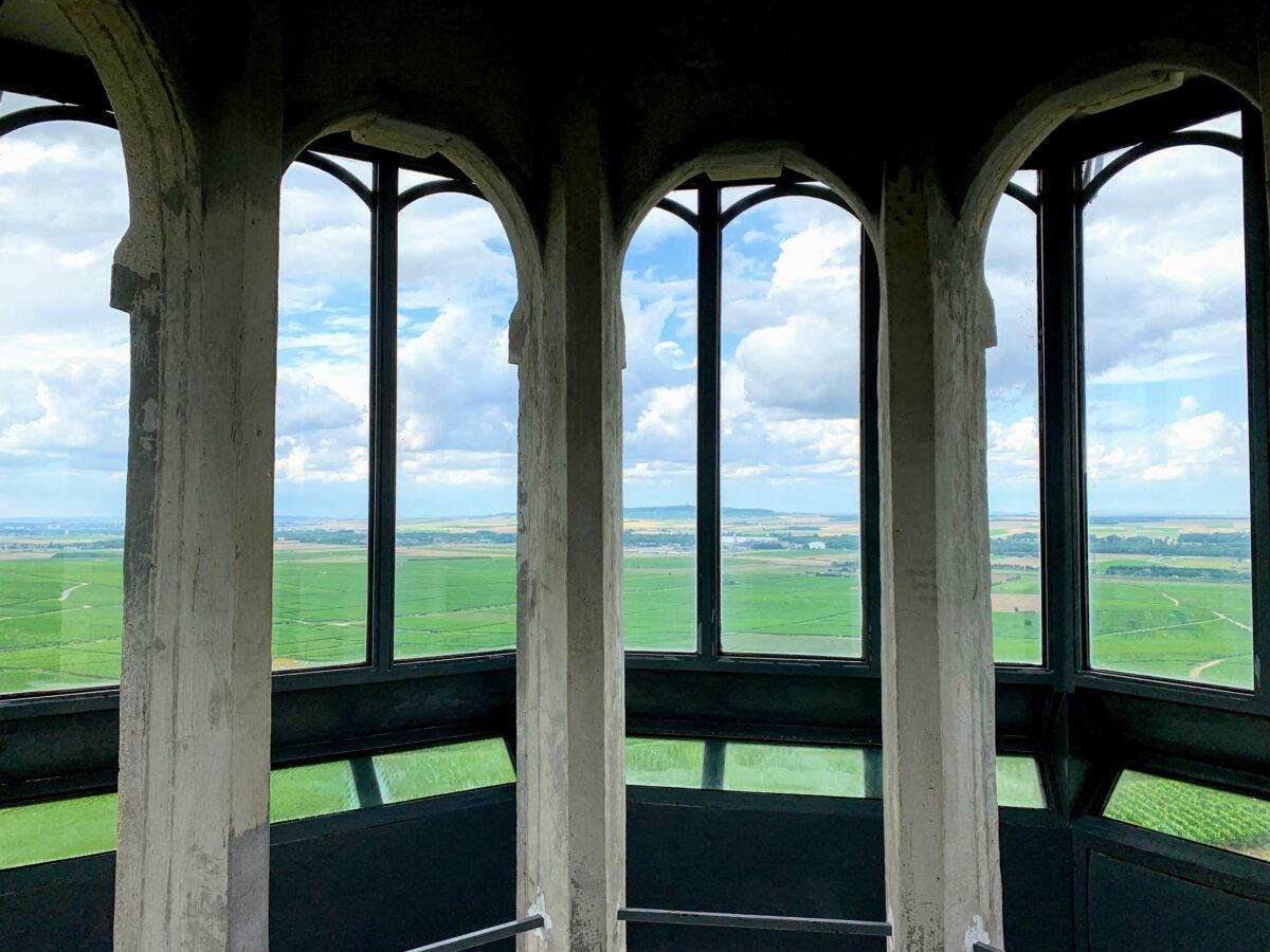 Panorama vanaf Phare de Verzenay